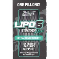 NUTREX Lipo 6 Black Hers Ultra Concentrate 60 capsules