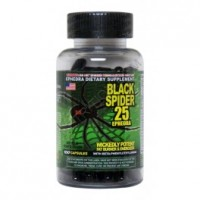 Cloma Pharma Laboratories Black Spider 100 капсул