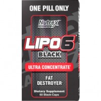 NUTREX Lipo 6 Black Ultra Concentrate 60 black-caps